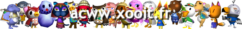 Animal Crossing sur DS : LE forum Index du Forum