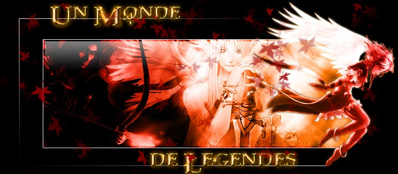 The Legends Index du Forum