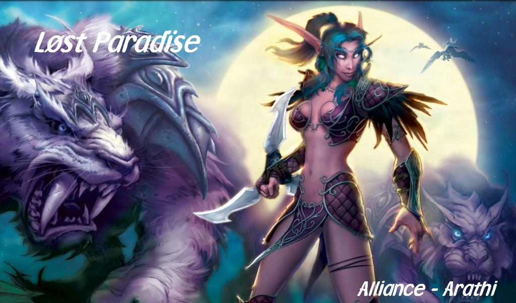 Lost Paradise Guilde HL PVE Index du Forum