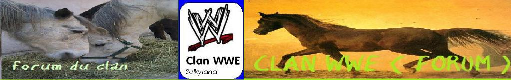 le forum du clan wwe de sulkland Index du Forum
