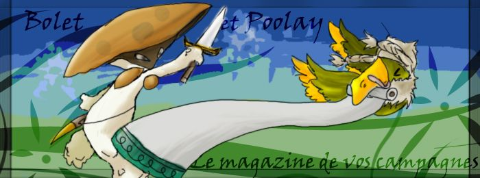 Bolet et Poolay, le magazine de vos campagnes Index du Forum
