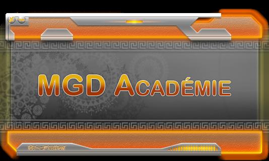 MGD Academie Index du Forum