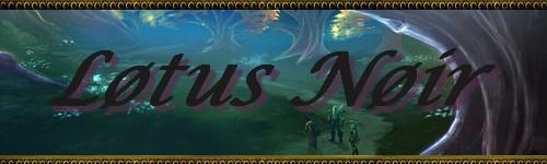 Guilde des Lotus Noir su serveur Durmstrang Index du Forum