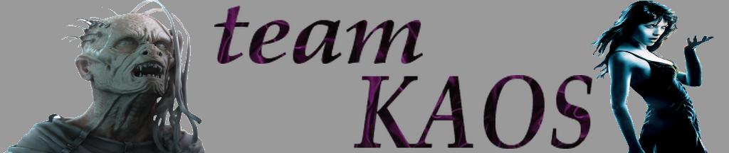 team  -kaos- Index du Forum