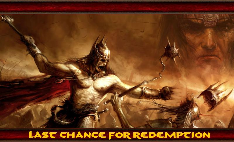 Last Chance For Redemption Index du Forum