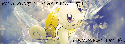 Pokevent Index du Forum