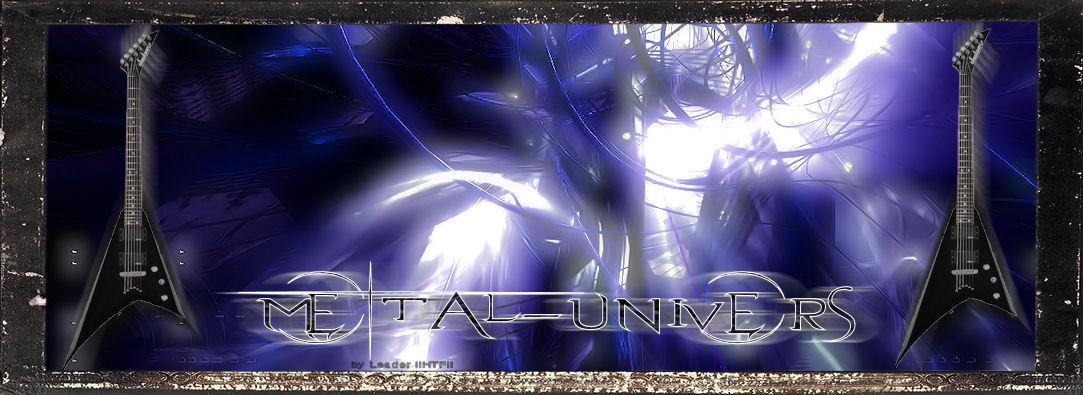 metal-univers! Venez decouvrir le monde du metal! Index du Forum