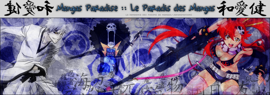 Mangas Paradise Index du Forum