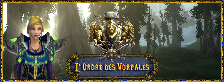 L'Ordre des Vorpales Index du Forum
