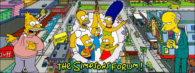 The Simpsons Forum Index du Forum