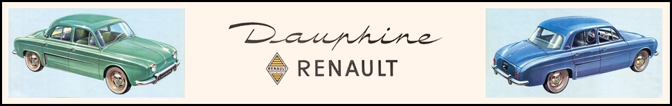Forum des Renault Dauphine et Ondine Index du Forum