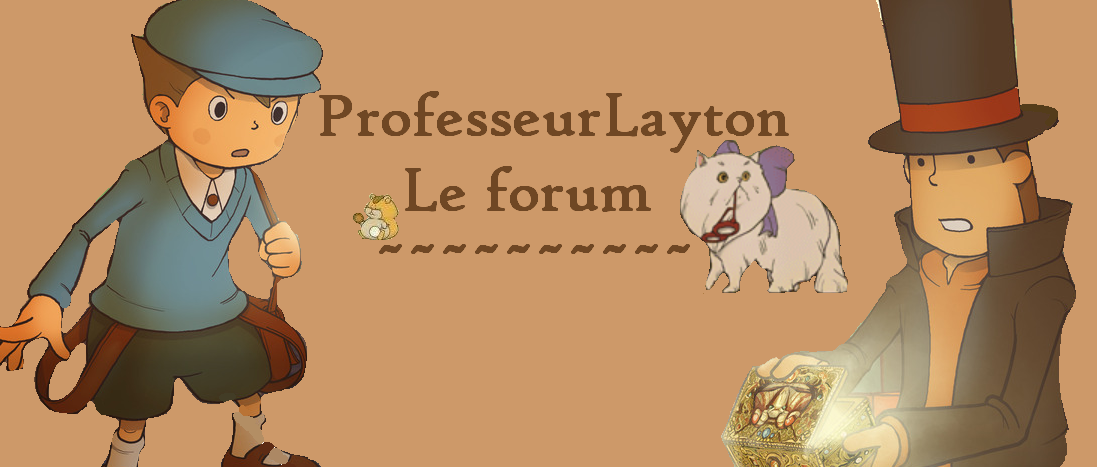 Professeur Layton  Index du Forum
