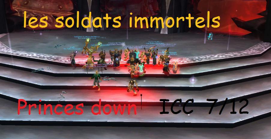 les soldats immortels Index du Forum
