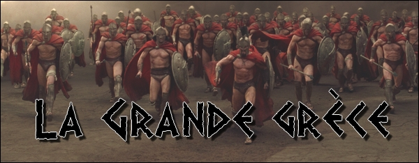Alliance La Grande Grèce Index du Forum