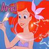 Ariel,la petite sirène.