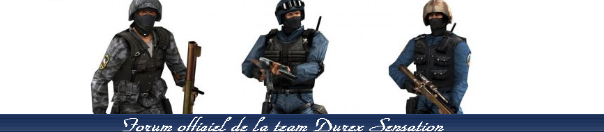 La team Durex Sensation Index du Forum