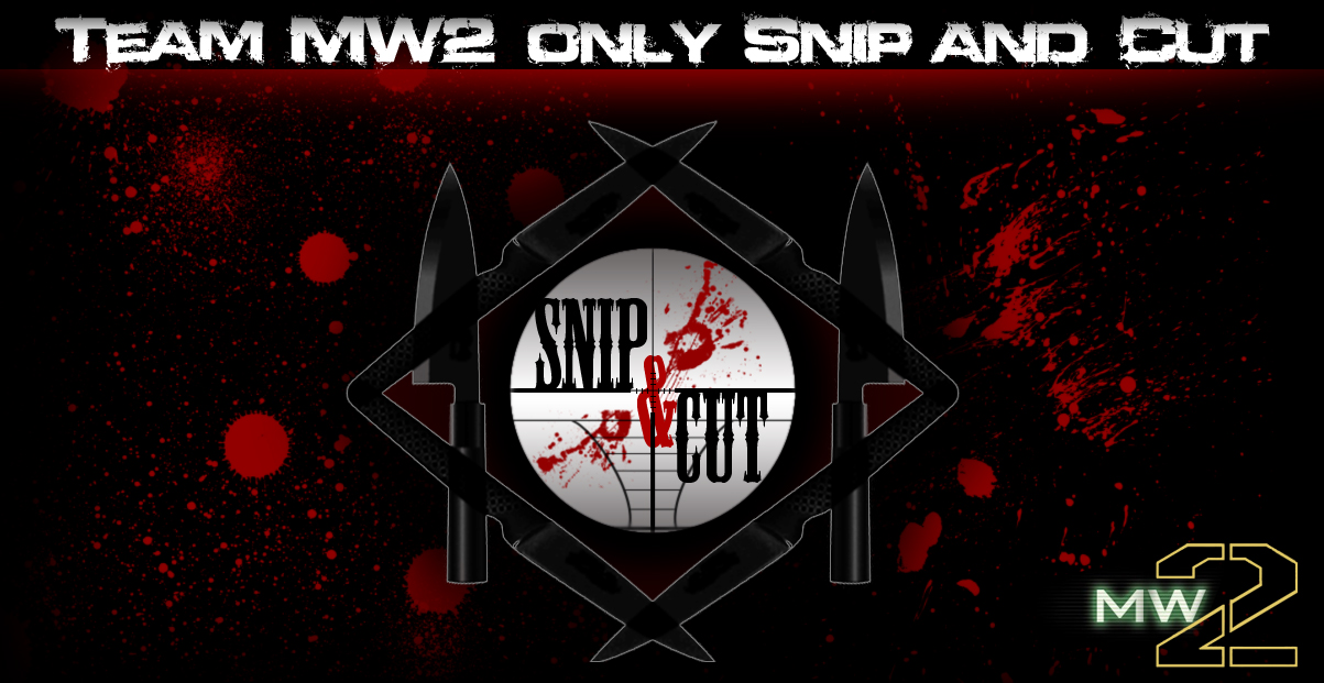 Snip and Cut : Team MW2 sur PS3 Index du Forum