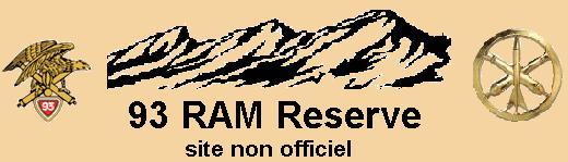 Reservistes Du 93 RAM Index du Forum