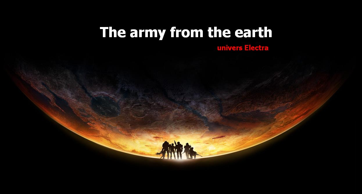 army from the earth Index du Forum