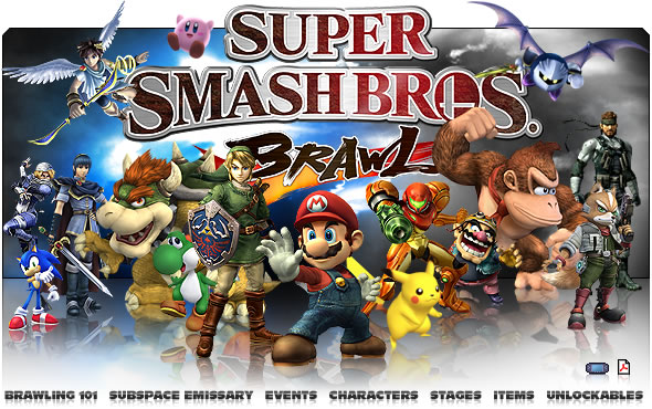 Super Smash Bros Brawl le RPG Index du Forum