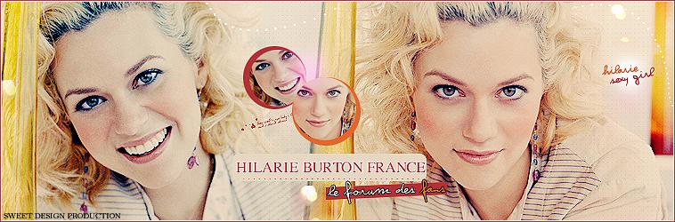 Hilarie Burton france