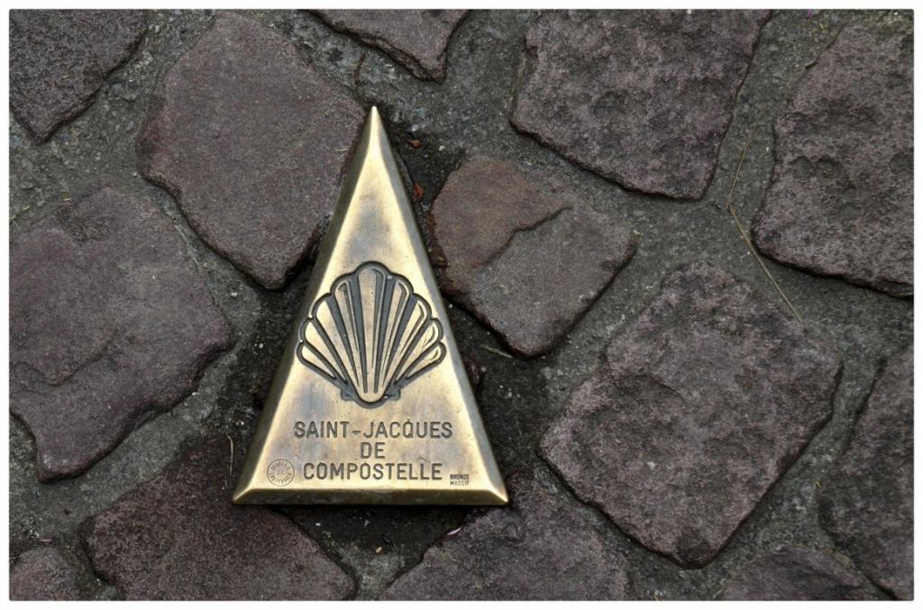 Les photos de francis la coquille saint jacques l - Distance st jean pied de port st jacques de compostelle ...