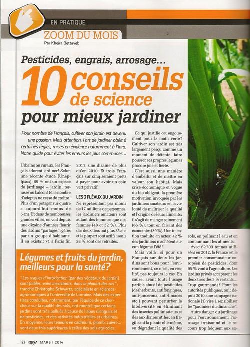 Mes science vie 10 conseils pour mieux jardiner for Conseil pour jardiner