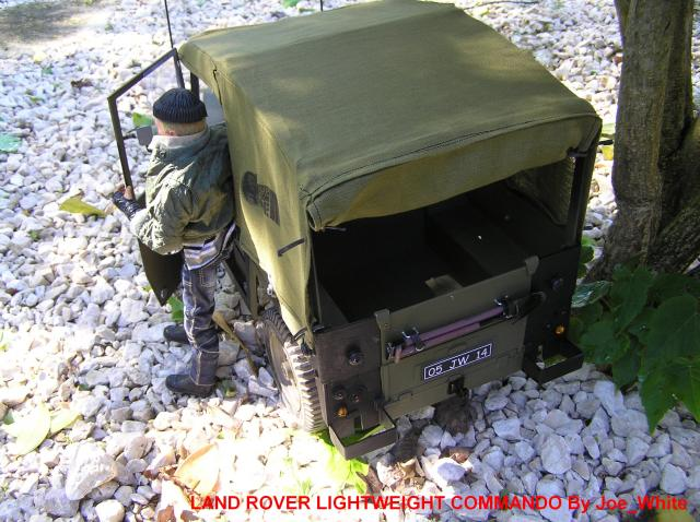 My LAND ROVER LIGHTWEIGHT COMMANDO Action Joe (French) 2005-06-22-23.18.01-4595a52