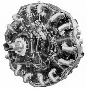 Logo B F on Bristol Centaurus Sleeve Valve Engine