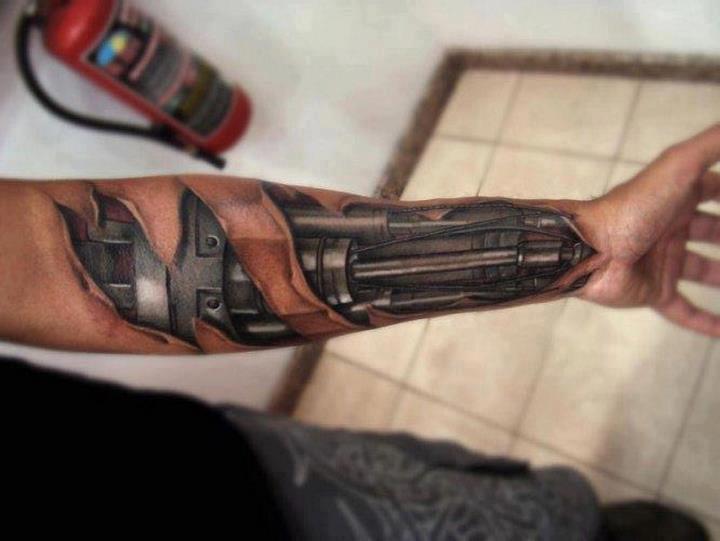 du message tatouage pe...