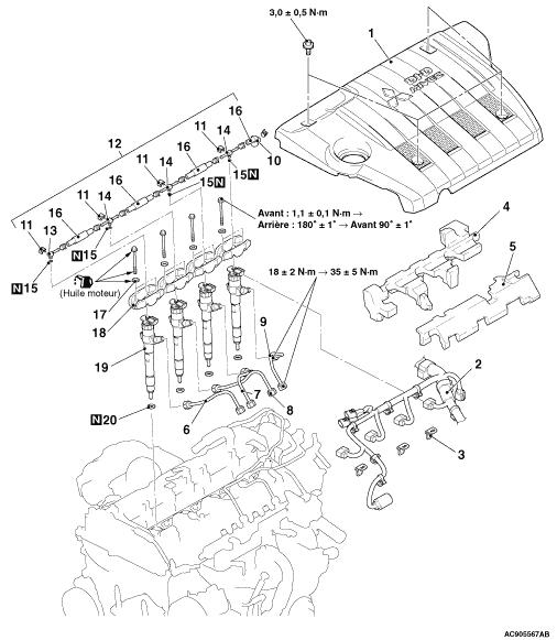 Mitsubishi Outlander Schema Cablage