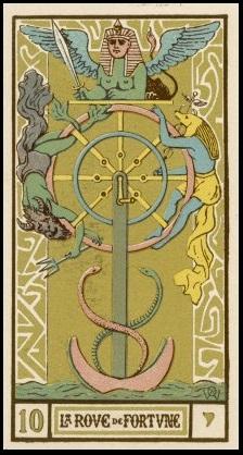 Arcane X du Tarot de Wirth