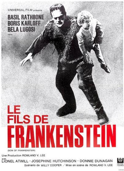 frankenstein rencontre le loup garou jaquette