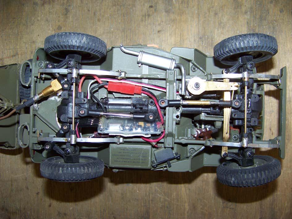 Jeep Danbury 1/16e, motorisée Sumo + remorque Bantam 1/4 t 108_3211-4678ccd