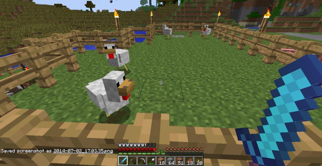 Minecraft - Poule minecraft ...