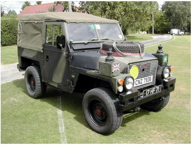 My LAND ROVER LIGHTWEIGHT COMMANDO Action Joe (French) Model-454f97b