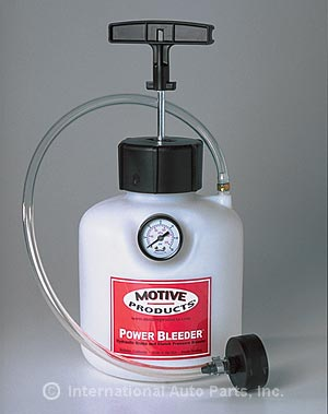 Purge liquide de frein feu vert