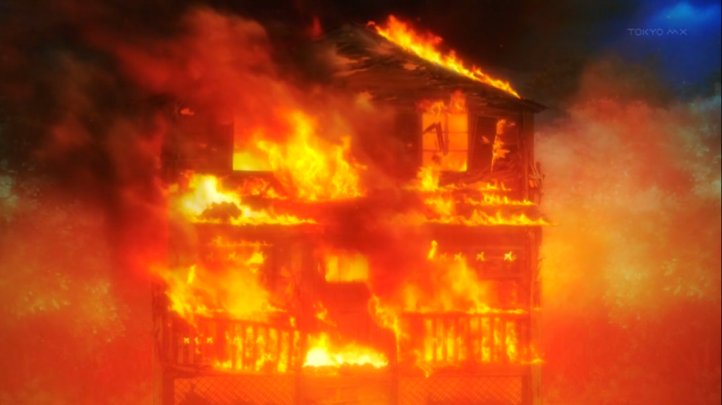 Plan te manga for Au feu les pompiers la maison qui brule