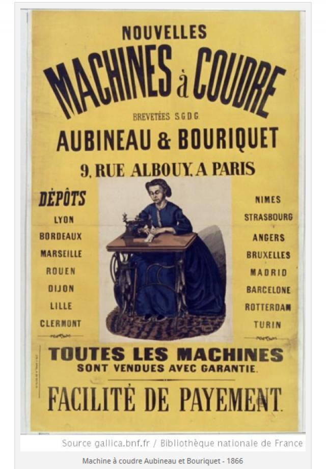 La parisienne - Marc Klotz - 4 passage Saulnier PARIS - (second Empire / Napoléon III) Aubineau-et-bouriquet-457f855