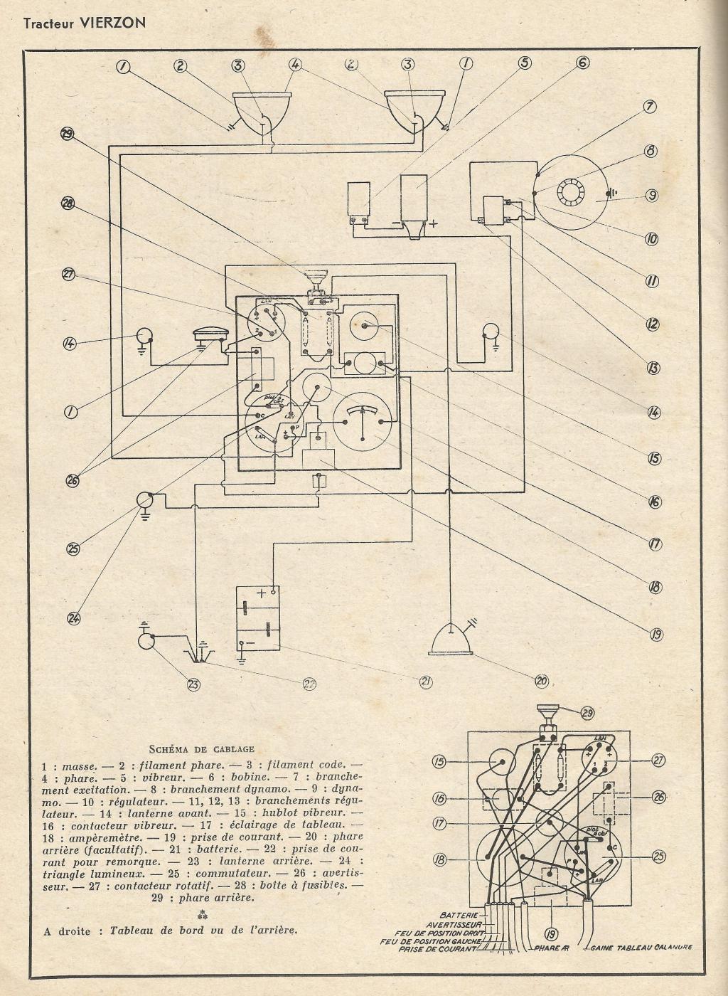 Les fous du vierzon alternateur - Branchement coupe circuit 6 poles ...