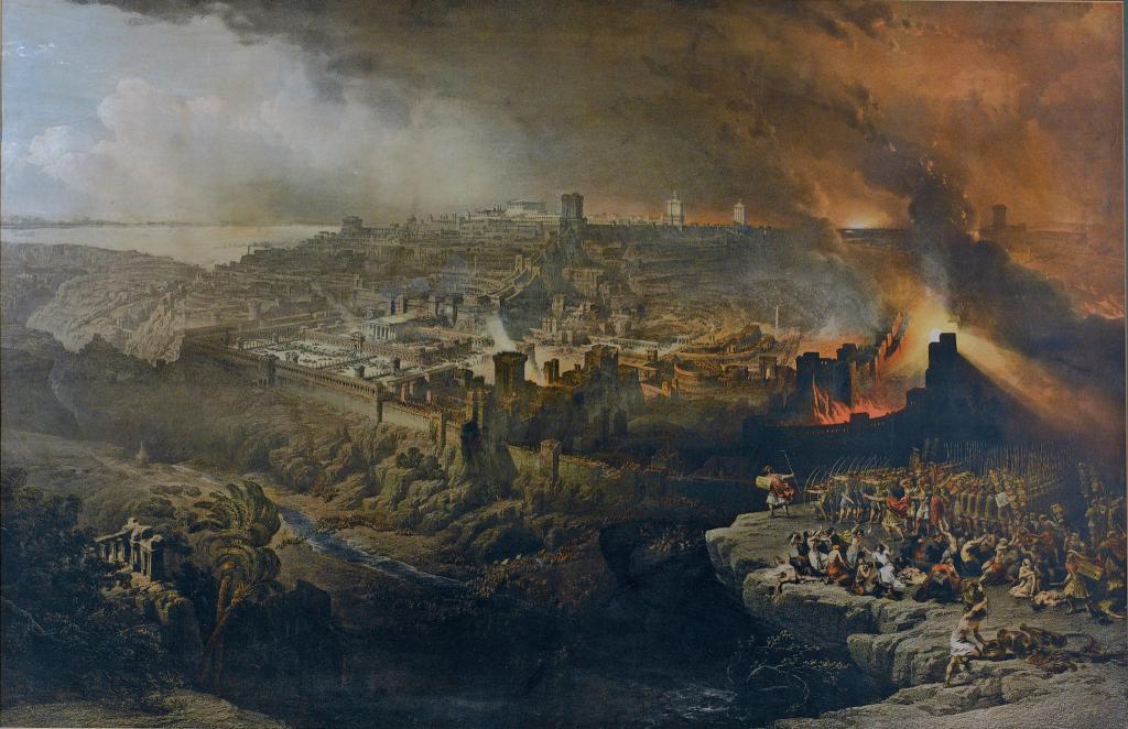 Veni Vidi Vici Siege De Jerusalem