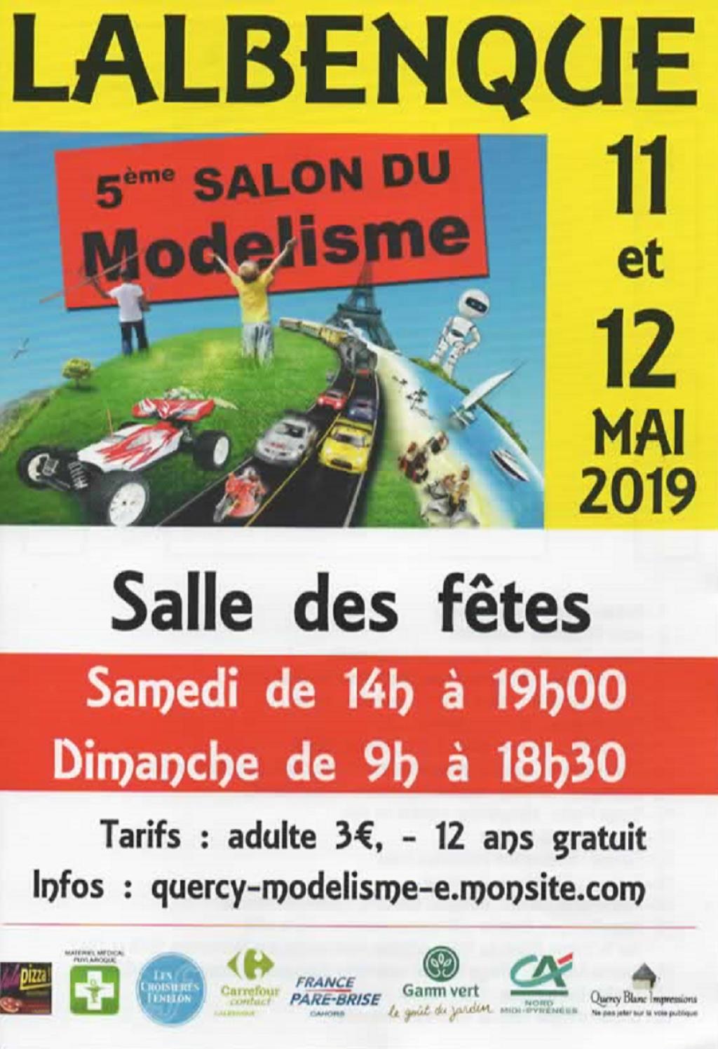 Salon du Modelisme LALBENQUE (Lot) 11 et 12 mai 2019 2019-lalbenque-56167fa