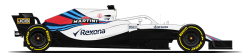 Pilote Williams Martini Racing