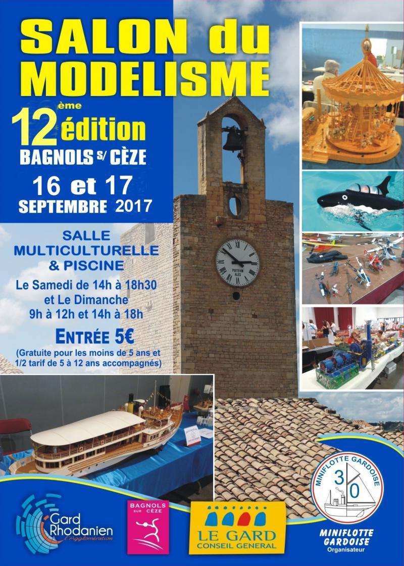Salon du Modelisme a Bagnols sur Ceze 16 et 17 septembre 2017 2017-bagnols-2-52f2fa3