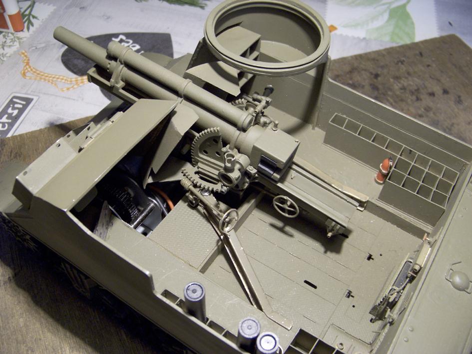 """M7 B1 105 Howitzer Gun Motor Carriage """"Priest"""" - Heng Long - 1/16e - Page 2 103_4048-4e12273"""