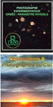 PHOTOGRAPHES EXPERIMENTATEURS  & OBSERVATEURS DU CIEL