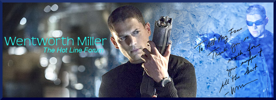 Wentworth Miller The hot Line Forum Index du Forum