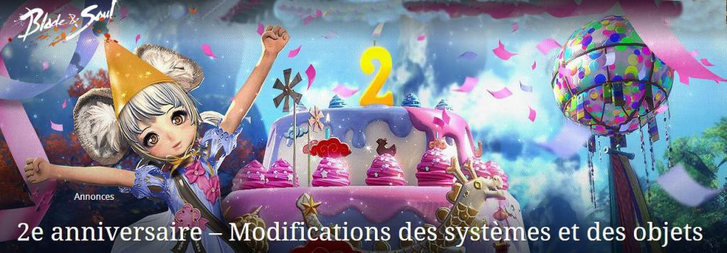 BNS :: Special Anniversaire Blade & Soul