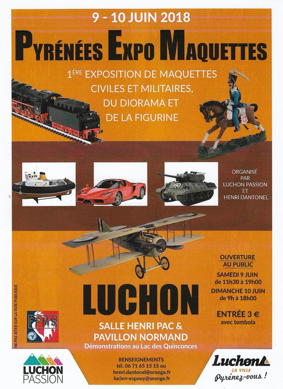 Pyrenees Expo Maquettes, Luchon 9 et 10 juin 2018 2018-luchon-expo-54867ff