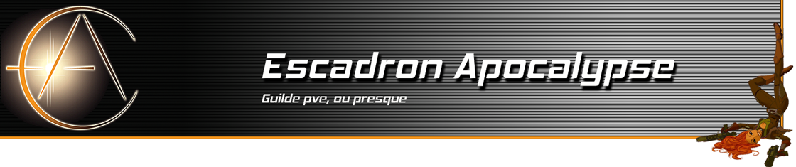 Escadron Apocalypse Index du Forum